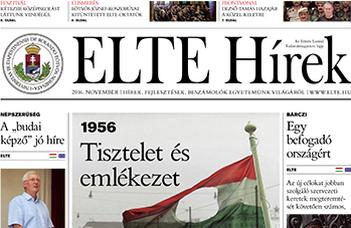 ELTE Hírek – 2016. november