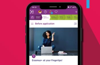 Webinárium az Erasmus+ Appról