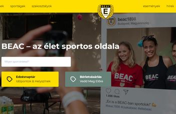 Angolul is olvasható a BEAC honlapja