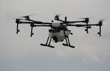 Drónrajokból fényszobrok