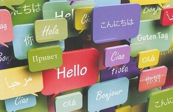 Próbavizsgák az ELTE nyelviskolájának nyílt napján.