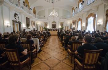 Új díszdoktorokat avatott az ELTE a Pázmány-napon
