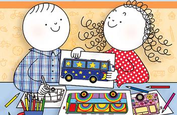 Az év innovatív gyerekkönyve a Csillagbusz