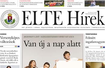 ELTE Hírek – 2017. június