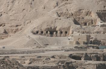 Ásatások a thébai nekropoliszban