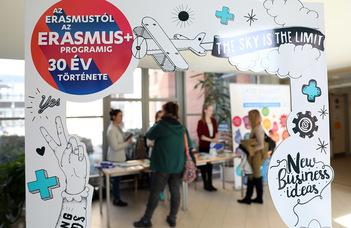 Tanulás és munkatapasztalat Erasmus+-szal