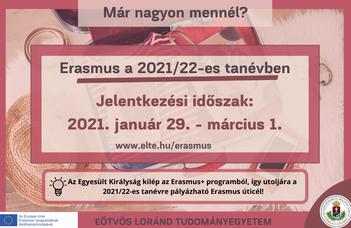 Erasmus+ 2021/2022