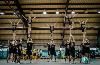 Cheerleadereink Kínában