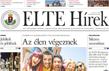ELTE Hírek –2017. november