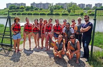 Vízre szálltak a nemzetközi hallgatói nagykövetek