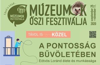 Ingyenes interaktív tárlatvezetések a Múzeumok Őszi Fesztiválja alkalmából.