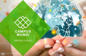Campus Mundi hallgatói ösztöndíj
