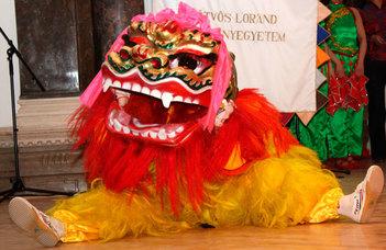 Teaceremónia, kínai nyelvóra, harcművészeti bemutató és még sok érdekes program.