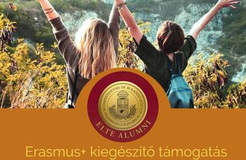 ELTE Alumni Erasmus+ kiegészítő ösztöndíj