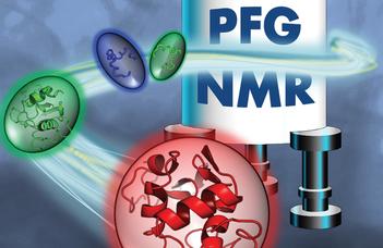Diffúziós NMR használata a fehérjeszerkezet jellemzésében