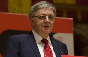 Az Academia Europaea új díját Lovász László vehette át elsőként