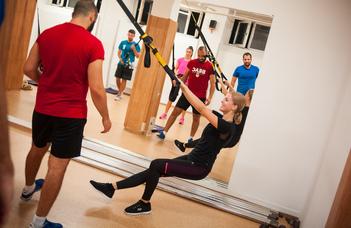 Az Erőnlét és Fitnesz Szakosztály nyári edzései