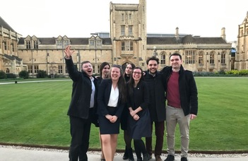 Médiajogászaink sikere Oxfordban