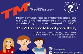 Lehetőségek a Tanítsunk Magyarországért! programban