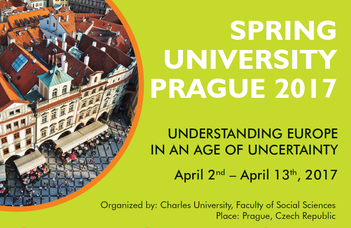Tavaszi egyetem Prágában