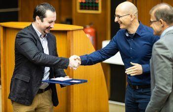 Lőrincz Péter nyerte a Győrffy Barna-díjat