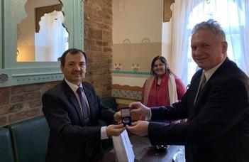 India nagykövete az ELTE-n