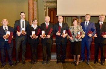 Rátz Tanár Úr díjas ELTE-sek