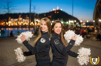 A BEAC párosa a cheerleader világbajnokságon
