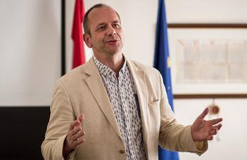 Francia állami elismerésben részesült Sonkoly Gábor