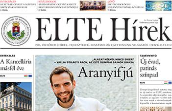 ELTE Hírek – 2016. október