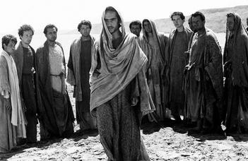 "Pier Paolo Pasolini művei a ""Film és Biblia""  sorozatban."