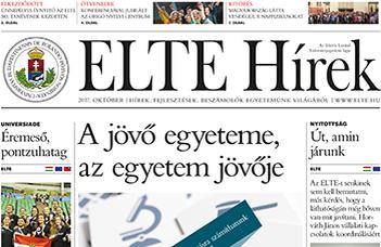 ELTE Hírek –2017. október