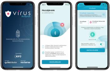 VírusRadar mobilalkalmazás
