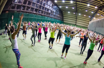 """Let's move together:  University Sports Festival Budapest"""