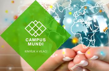 Campus Mundi ösztöndíj