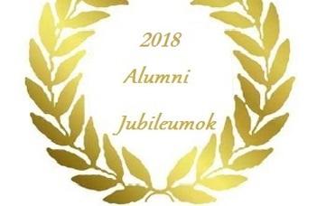 Alumni évfordulók