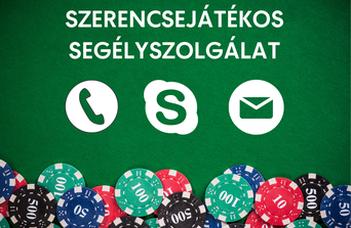 Több csatornán is elérhető a Szerencsejátékos Segélyszolgálat