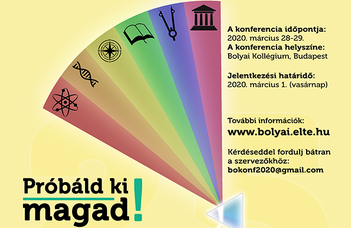 XXV. Bolyai Konferencia