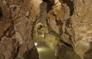 A túra előtt rövid előadást hallgatunk meg a hévizes barlangokról, és megtekintjük a kiállítást.