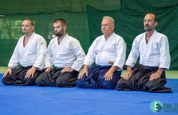 Aikido díjátadó ünnepség