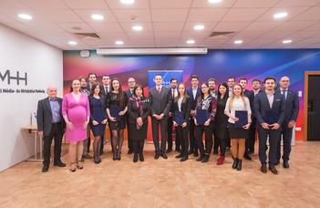 Jogászhallgatókat díjazott a Média- és Hírközlési Hatóság