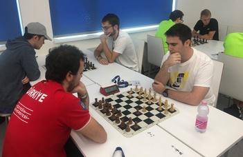 Sakkozóink az Európai Egyetemi Bajnokságon