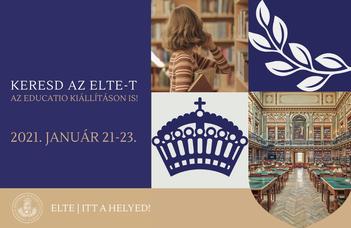 Keresd az ELTE-t az Educatión is!
