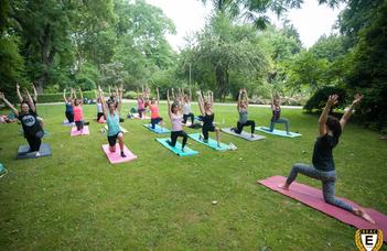 Ingyenes jógaórák a Füvészkertben