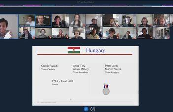 Ezüstérmet nyert a magyar csapat az Ifjú Fizikusok Osztrák Versenyén