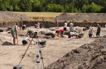 Újabb jelentős leletekre bukkantak az ELTE régészei Brigetióban