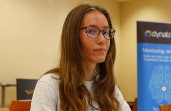 Kelemen Anna az online svájci diákolimpián (vaol.hu)