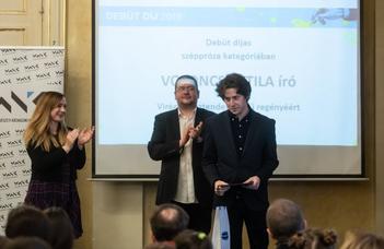 Debüt díjas az ELTE hallgatója
