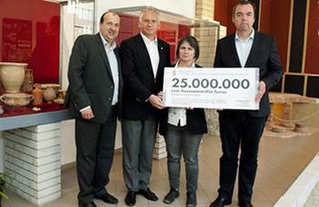25 milliós támogatás Brigetio további feltárására