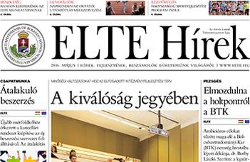 ELTE Hírek – 2016. május